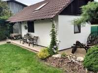 Zahradní domek - pohled - chata ubytování Veselí nad Lužnicí