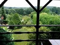 Výhled z terasy na řeku
