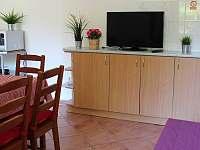 Apartmán Vrátnice - obývak - k pronajmutí Staňkov
