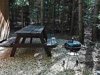Chata Vrátnice - venkovní posezení