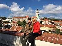 Hostitelé Jana a Dario - Český Krumlov