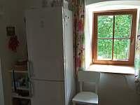 Kuchyně - apartmán k pronájmu Velké Skaliny