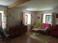 Obývák - apartmán ubytování Velké Skaliny
