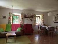 Obývák - apartmán k pronajmutí Velké Skaliny