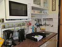 Kuchyně - pronájem apartmánu Val