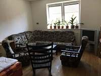 Obývací pokoj - pronájem rekreačního domu Veselí nad Lužnicí
