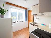 Kuchyně - chata k pronájmu Nuzice u Bechyně