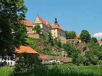 Tip na výlet - zámek Bechyně - pronájem chaty Nuzice u Bechyně