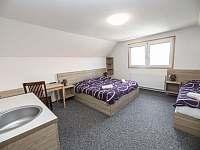 Ložnice 2 - chalupa ubytování Dešná