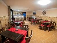 Společenská místnost - apartmán ubytování Kardašova Řečice