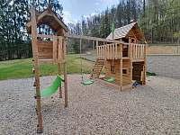 Dětské hřiště - ubytování Jistec
