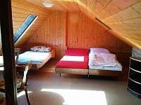 ložnice v podkroví /  Chata Čejnov u Lužnice