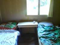 ložnice v přízemí / Chata Čejnov u Lužnice