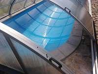 bazén - chalupa ubytování Prachatice