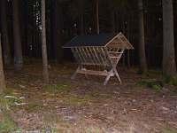 Chata sousedí s lesem pro milovníky přírody a houbaření
