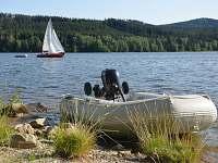výborné podmínky pro rybaření - Lojzovy Paseky