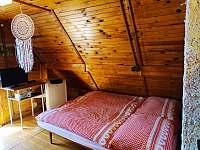 Ložnice - chata ubytování Malý Ratmírov