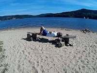 Nejlepší relax na plážích kolem Lipna - chata k pronájmu