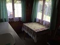 kuchynka - chata ubytování Hůrka