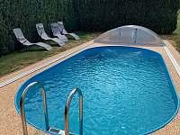 Chalupa s bazénem Holubovská Bašta - pronájem