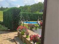 Chalupa s bazénem na Holubovské Baště - ubytování Holubovská Bašta