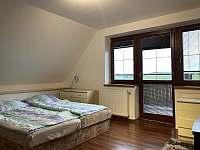 Ložnice s balkónem - Holubovská Bašta