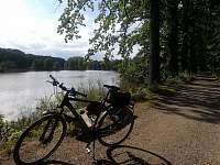 cyklistika u Vrbenských rybníků - apartmán k pronájmu Jaronice