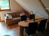Hlavní místnost - apartmán k pronajmutí Jaronice