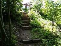Chata Podskalí - sestup k vodě
