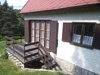 Chata Podskalí - venkovní terasa