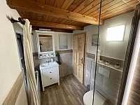 druhá koupelna v přízemí - chalupa k pronájmu Lipno nad Vltavou - Slupečná