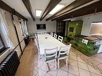 kuchyň a jídelna - Lipno nad Vltavou - Slupečná