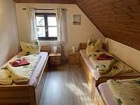 pokoje v prvním patře - pronájem chalupy Lipno nad Vltavou - Slupečná