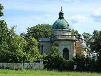 Jemnice - hrobka Palawicziního posledního majitele zámku - Jackov