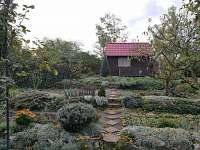 Zahrada - chata ubytování Brod nad Dyjí