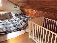 Ložnice 1 - pronájem chaty Němčičky