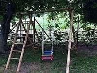 Zahrada - chata k pronajmutí Němčičky