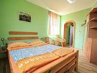 dvoulůžkový pokoj - ubytování Lukov