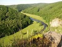 údolí řeky Dyje - ubytování Lukov