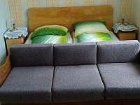 Ložnice č.1 ve větším apartmánu