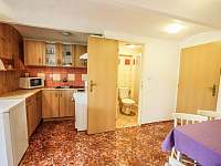 Apartmán č. 1, kuchyň - k pronájmu Jevišovice