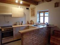 kuchyňský kout - apartmán k pronájmu Tvarožná Lhota