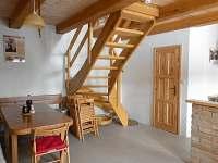 společenská místnost - apartmán ubytování Tvarožná Lhota