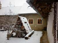 zimní dvorek - apartmán k pronajmutí Tvarožná Lhota