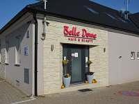 Penzion Belle Donne - vchod a monitorované parkoviště - Znojmo