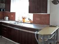 kuchyně - chalupa ubytování Sedlec u Mikulova