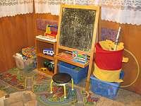 Dětský koutek - pronájem chaty Bítov