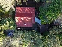 Pohled z dronu - Bítov