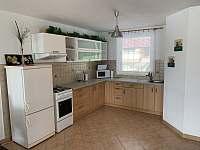 Kuchyň - rekreační dům k pronájmu Ostrov u Macochy