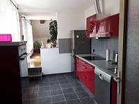 kuchyně - apartmán k pronájmu Křtiny